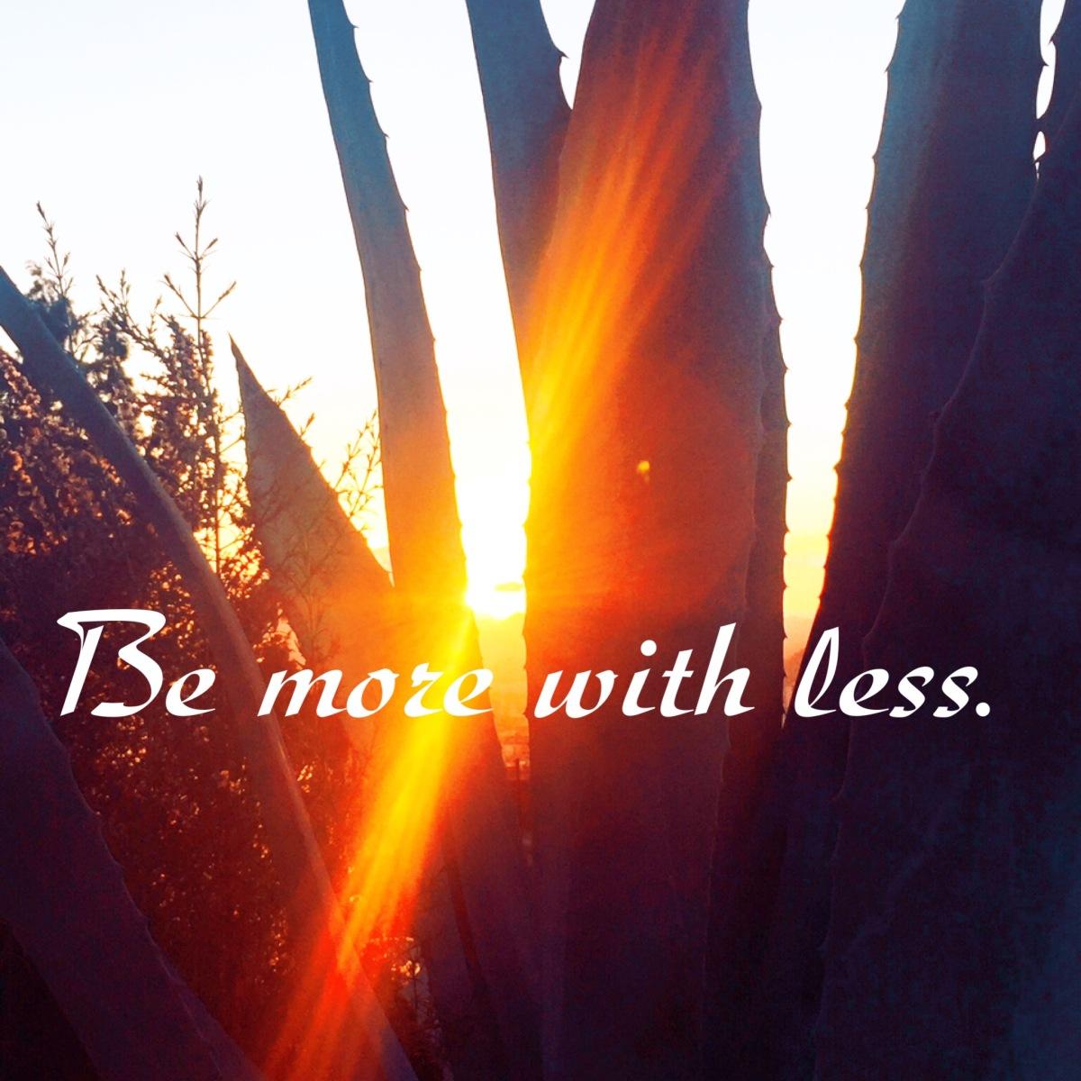 "Stil de viata mimalist sau ""be more with less""#2-ingrijire personala"